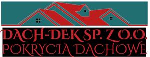 logo DACH-DEK – pokrycia dachowe